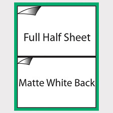 20 Shipping Label Matte White Backing Self Adhesive For PayPal USPS Ebay