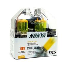 Nokya H4H R702k Yellow Headlight Foglight Bulbs 2500K 60/55w Genuine