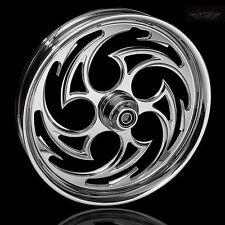 "Harley Davidson Street Glide 21"" Inch Custom Chrome Front Wheel ""Predator"""