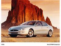 1995 Buick XP2000 Concept Press Media Kit Brochure Folder Showcar
