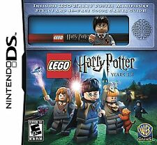 LEGO Harry Potter: Years 1-4 w/MINI Nintendo DS, 2010 GAME NEW & FACTORY SEALED
