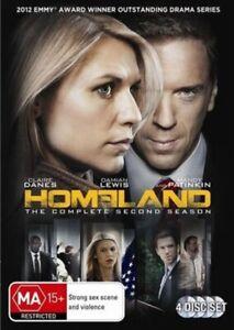 Homeland Claire Danes Damian Lewis 8 DVD Discs Seasons 2 & 5 Cult TV Espionage