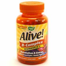 Alive B Complex Gummies By Nature's Way - 60 Gummies