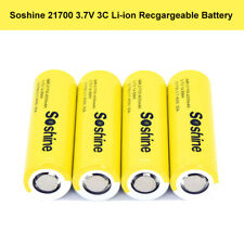 4pc 18650 High Drain 4000mAh Flat Top Recgargeable Battery For HD Inspection Cam