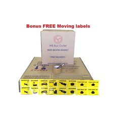 15 X 50L MOVING BOXES REMOVALIST PACKAGE DEAL