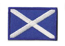 Wappen Abzeichen Gepatcht Klein Patch Schottland 45x30 mm Heißklebend