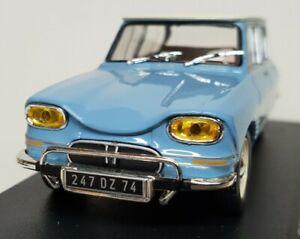Voiture miniature 1/43 Citroën Ami 6 de 1961 Ixo / boite vitrine