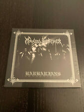 """MANIAC BUTCHER- """"Barbarians 1995"""" Deluxe Digipak CD (Limited Edition 333 Copies)"""