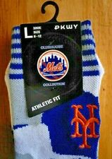 PKWY  NEW YORK METS CAMO CREW  Socks   Size: LARGE ( 6-12)  MLB  NEW