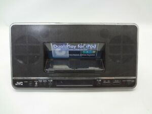 JVC NX-PN7 Dual Play iPod Docking Station *No Remote*