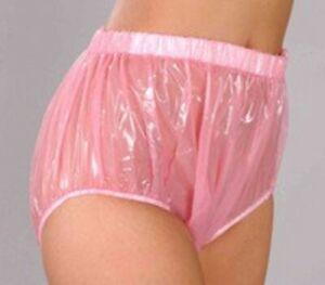 ADULT BABY PLASTIC PANTS PVC incontinence #P005-5-XL