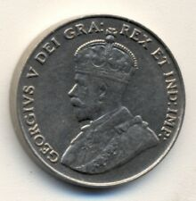 CANADA 5¢, 1924, XF