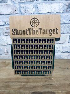 Reactive Precision Air Rifle Target 17cm Bowling Pins Pellet Catcher Insert