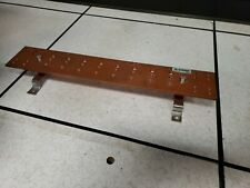 """Harger 1 GROUND BAR BUSS KIT SOLID COPPER BUSS BAR 1/4X4X23"""""""