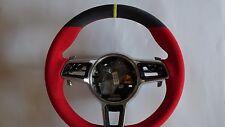 PORSCHE 991  PDK  GT3 GT 2 RS RED BLK  ALCANTARA  M F STEERING WHEEL YELLOW  TOP
