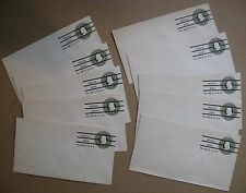 Lot of Ten U420 1c Ben Franklin pre-cancel Postal Envelopes (Boston)