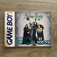 The Addams Family - Manual - Gameboy - FREE Combined Shipping