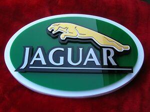 Jaguar 3D SIGN CAR ART Black custom version car mph NEW import model auto