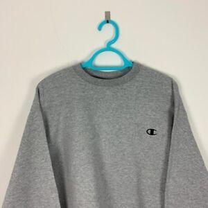 Vintage Champion Grey Crew Neck Sweatshirt