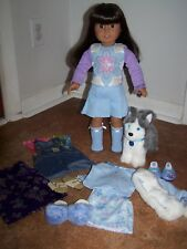 "American Girl Today 18""  Doll with all Authentic Clothes, Shoes + Dog"