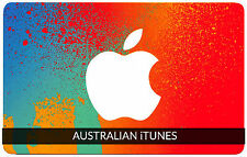 $30 AUSTRALIAN Apple iTunes Gift Card Certificate Voucher AUSTRALIA iTunes Code