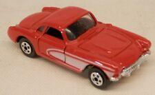 Road Champs 1957 Chevrolet Corvette Red Hardtop #61 Chevy Vette w/Box 1/64