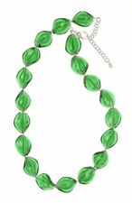 Emerald Beaded Costume Necklaces & Pendants