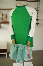 Kotaura HERRENSPIELERHEMD DDR 80er GDR Trikot grün weiß Shirt True Vintage 80s