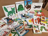 Lot of 10 Eric Carle Picture/Board Books for Children's Kid Toddler *Random Mix*