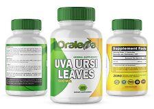 UVA URSI LEAVES 500 MG HERBAL Supplement Facts 100 CAPSULES