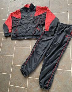 Rare VTG Nike Air Jordan Flight Jumpman Jacket Pants Suit Basketball Sz XL 1989