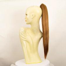 Hairpiece ponytail long 27.56 dark blond copper 7/g27 peruk