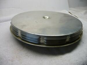 1958 1959 1960 Corvette Louvered 1x4 Sealed Type Air Cleaner
