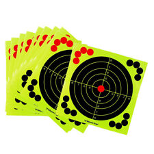 Pack of 10 12inch Round Shape Shooting Targets Splash Target Sticker