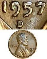 1957 D Lincoln Cent Error - RPM , Thickness & Doubling!