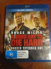 Dvd Blu-Ray A Good Day To Die Hard Extended Cut * Must See * Great