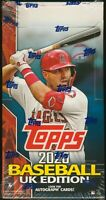 2020 Topps UK Edition Baseball SEALED HOBBY BOX 24-Pack MLB Trading Cards