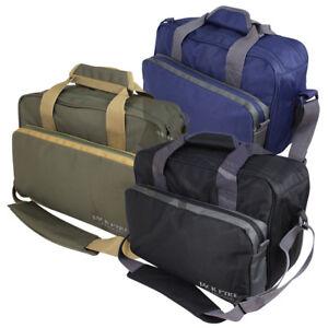Jack Pyke Sporting Shoulder Bag in Green, Blue & Black. Range bag