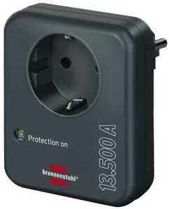Brennenstuhl Blitzschutz Geräteschutz Überspannungsschutzadapter 13.500A 1506996