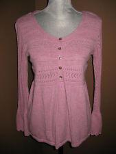 Euc J.Jill Lilac Super Soft Bell Sleeves Sweater Size Sp Small Petite