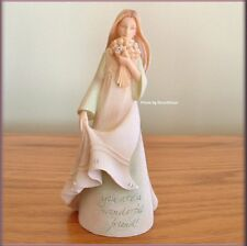 FRIEND MINI ANGEL FIGURINE BY FOUNDATIONS KAREN HAHN FREE U.S. SHIPPING