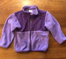 The North Face Size 18-24 Months Girls Fleece Jacket Purple