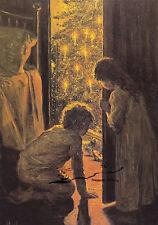 Kunstkarte: Henry Mosler - Der Christbaum