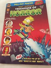 Bart Simpson's Treehouse Of Horror (2008) Plus Pull Out Poster 47pgs Cardboard