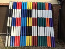 Show Jump Poles 3m Painted two colours
