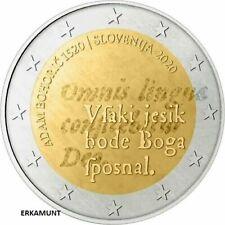5x2 euro Gedenkmünze SLOWENIEN 2020