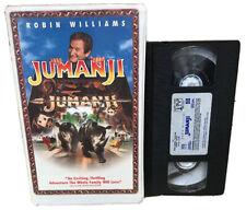 Jumanji (VHS, 1996, Closed Captioned; Clamshell) Robin Williams classic family