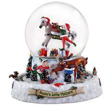 Breyer 700225 Santa's Little Helpers Snow Globe Christmas Model Horse - NIB