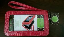 Kelly & Katie Pink Smartphone Wristlet  / Wallet Cell Phone Case
