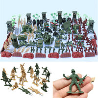170Pcs Set Military Toy Soldier Army Tank Plane Men 5cm Figures Accessories